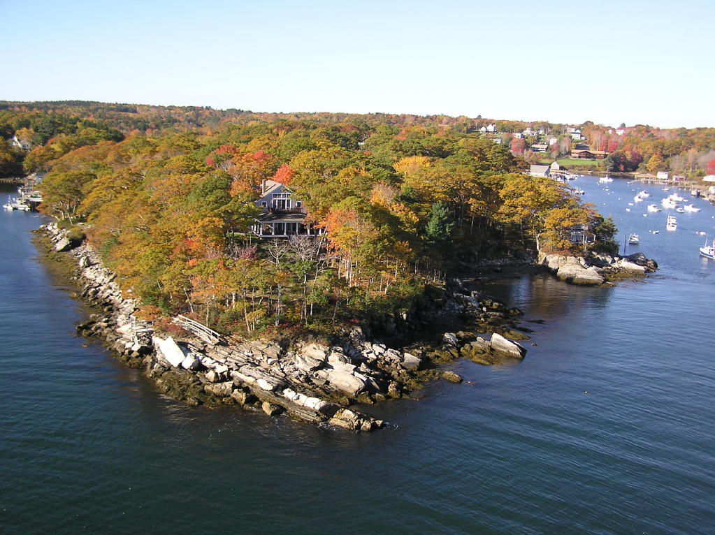 Ocean View Property For Sale In Maine